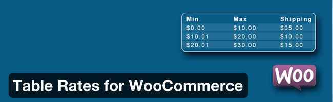 table-rates-woocommerce